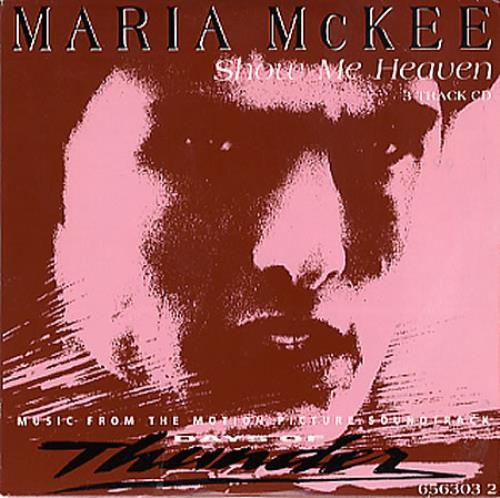 "Maria McKee Show Me Heaven CD single (CD5 / 5"") UK MCKC5SH34897"