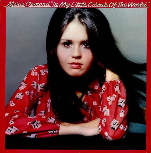 Marie Osmond In My Little Corner Of The World Uk Vinyl Lp
