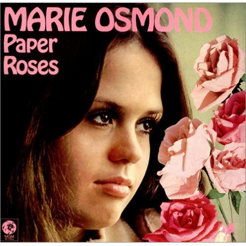 Marie Osmond Paper Roses Uk Vinyl Lp Album Lp Record