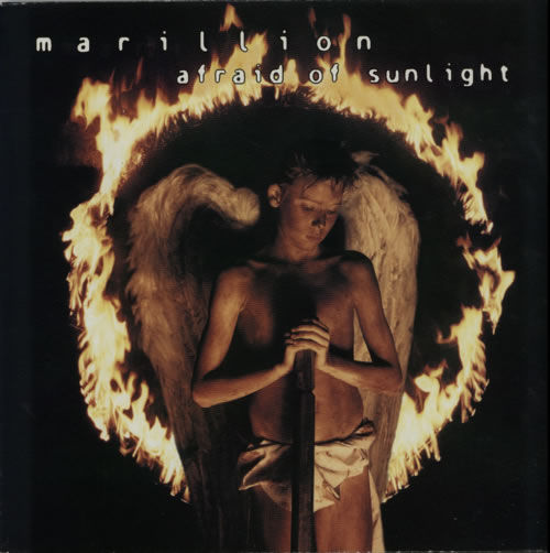 Marillion Afraid Of Sunlight vinyl LP album (LP record) UK MARLPAF598737