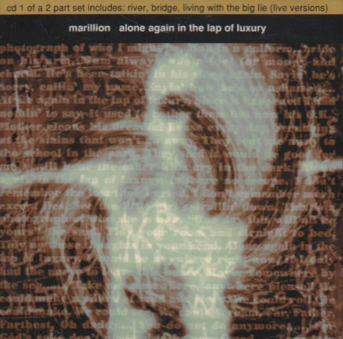 "Marillion Alone Again - Part 1 CD single (CD5 / 5"") UK MARC5AL647380"