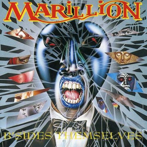 Marillion B'Sides Themselves CD album (CDLP) UK MARCDBS240287