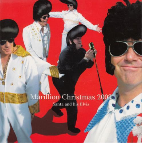 Marillion Christmas 2002: Santa And His Elvis CD album (CDLP) UK MARCDCH645813
