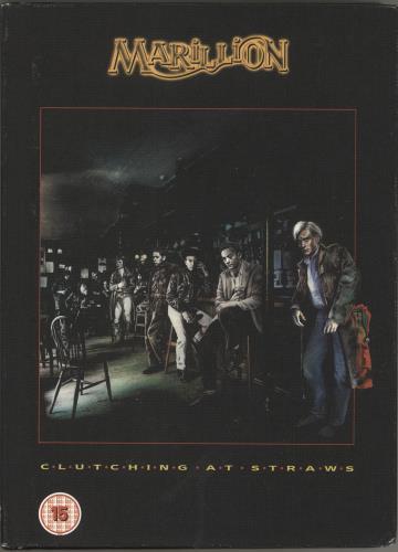Marillion Clutching At Straws + Blu-Ray CD Album Box Set UK MARDXCL723726