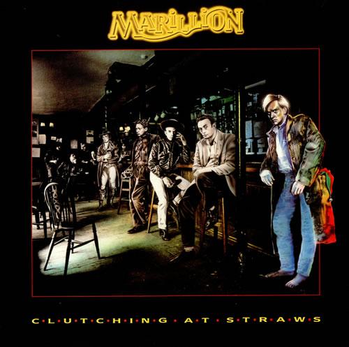 Marillion Clutching At Straws + Merch Insert vinyl LP album (LP record) UK MARLPCL290227