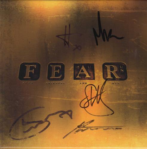 Marillion FEAR (F*** Everyone And Run) - Autographed CD Album Box Set UK MARDXFE755990