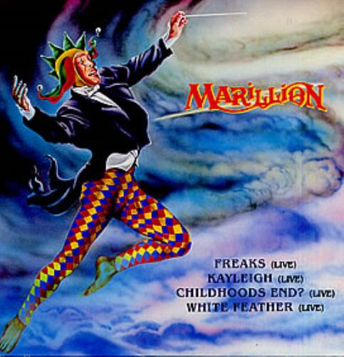 "Marillion Freaks 12"" vinyl single (12 inch record / Maxi-single) UK MAR12FR162313"