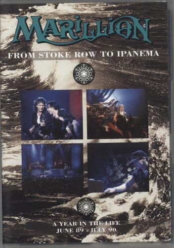 Marillion From Stoke Row To Ipanema DVD UK MARDDFR251300