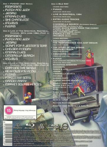 Marillion Fugazi - 3CD & Blu-ray Deluxe Edition - Sealed CD Album Box Set UK MARDXFU775214