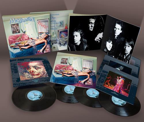 Marillion Fugazi - 4-LP Deluxe Edition - Sealed Vinyl Box Set UK MARVXFU775213