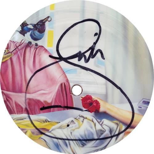 Marillion Fugazi - Autographed picture disc LP (vinyl picture disc album) UK MARPDFU651220
