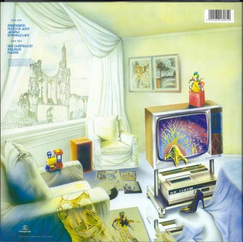 Marillion Fugazi vinyl LP album (LP record) UK MARLPFU768113
