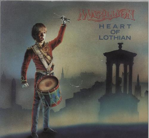 "Marillion Heart Of Lothian - Injection 7"" vinyl single (7 inch record) UK MAR07HE671865"
