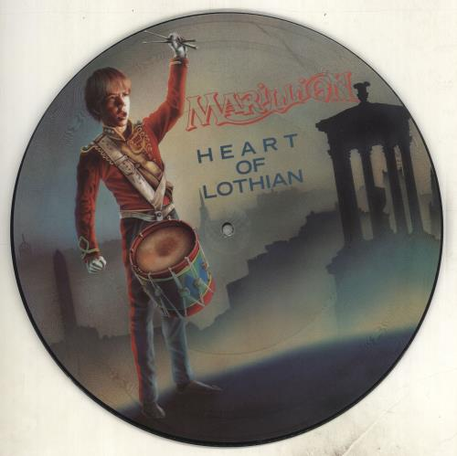 "Marillion Heart Of Lothian - Mispress 12"" vinyl picture disc 12inch picture disc record UK MAR2PHE717469"