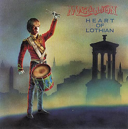 "Marillion Heart Of Lothian - Solid 7"" vinyl single (7 inch record) UK MAR07HE28950"