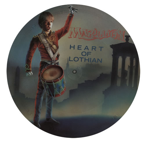 """Marillion Heart Of Lothian 12"""" vinyl picture disc 12inch picture disc record UK MAR2PHE01135"""