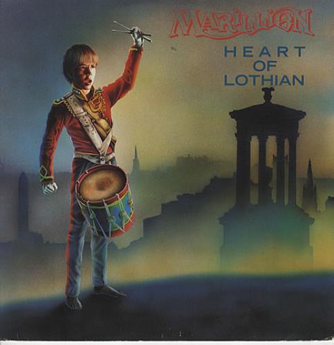 """Marillion Heart Of Lothian 12"""" vinyl single (12 inch record / Maxi-single) UK MAR12HE31413"""