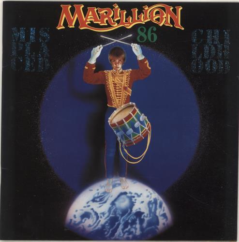 Marillion Misplaced Childhood 86 + Flexi & Postcards tour programme UK MARTRMI260940