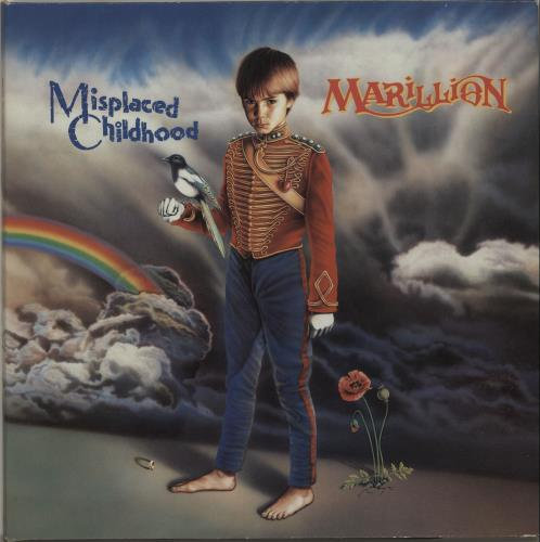 Marillion Misplaced Childhood vinyl LP album (LP record) UK MARLPMI190688
