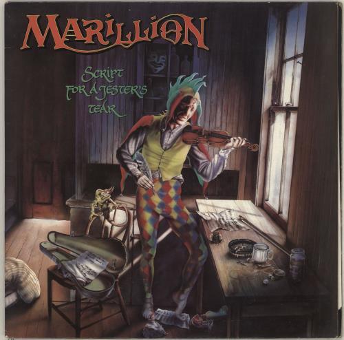 Marillion Script For A Jester's Tear vinyl LP album (LP record) UK MARLPSC169163