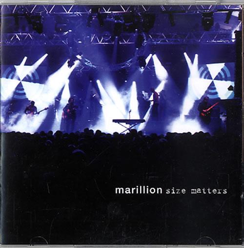 Marillion Size Matters 2 CD album set (Double CD) UK MAR2CSI622036