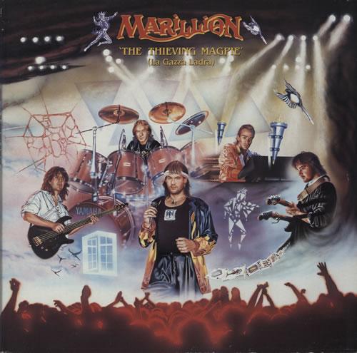 Marillion The Thieving Magpie [La Gazza Ladra] - EX 2-LP vinyl record set (Double Album) UK MAR2LTH578907