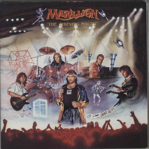 Marillion The Thieving Magpie 2-LP vinyl record set (Double Album) UK MAR2LTH751110