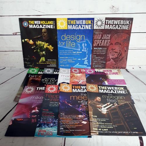 Marillion The UK Web Magazine - Quantity of Twenty Seven Fanzines fanzine UK MARFATH759922