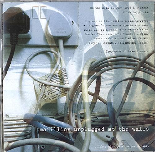 Marillion Unplugged At The Walls 2 CD album set (Double CD) UK MAR2CUN621884