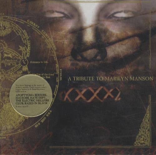 Marilyn Manson A Tribute To Marilyn Manson CD album (CDLP) US MYMCDAT221720