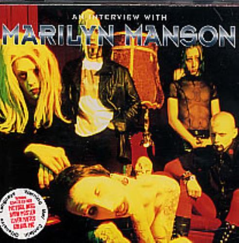 Marilyn Manson An Interview With CD album (CDLP) UK MYMCDAN269318