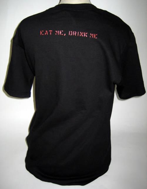 Marilyn Manson Eat Me, Drink Me - juniors size t-shirt UK MYMTSEA405666
