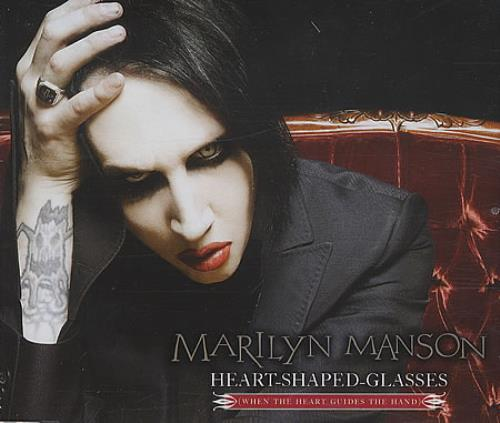 "Marilyn Manson Heart-Shaped-Glasses CD single (CD5 / 5"") UK MYMC5HE403588"