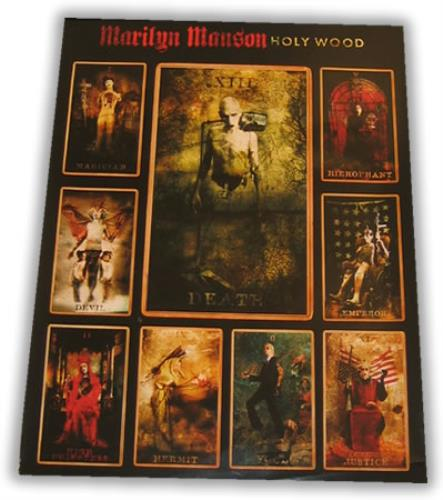 Marilyn Manson Holy Wood poster US MYMPOHO397645