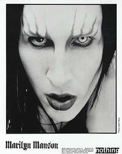 Marilyn Manson Holywood (In The Shadow Of The Valley Of Death) media press pack US MYMPPHO173086