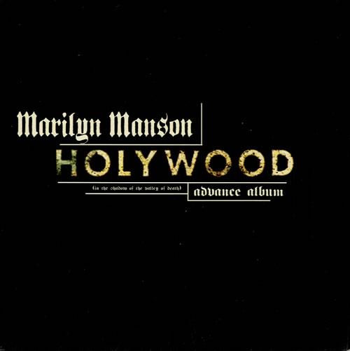 Marilyn Manson Holywood CD album (CDLP) UK MYMCDHO170003