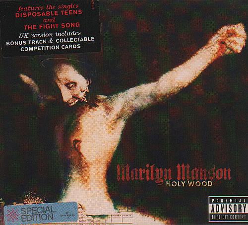 Marilyn Manson Holywood CD album (CDLP) UK MYMCDHO635528