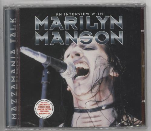 Marilyn Manson Mazzamania Talk CD album (CDLP) UK MYMCDMA269322