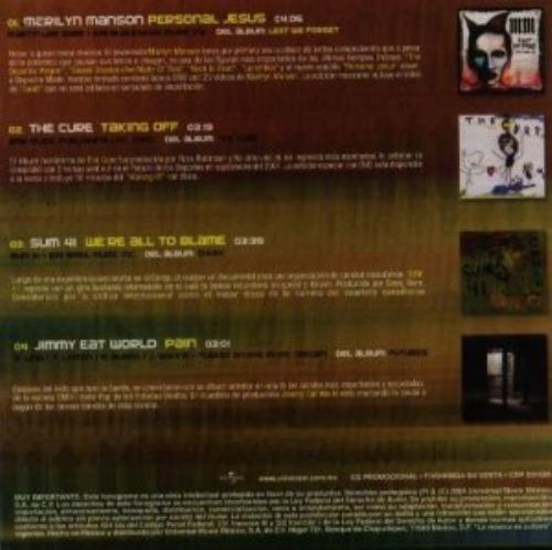 "Marilyn Manson Personal Jesus CD single (CD5 / 5"") Mexican MYMC5PE309370"
