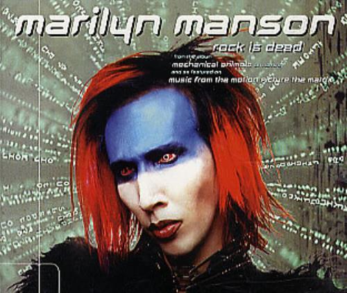 Marilyn Manson Rock Is Dead 2-CD single set (Double CD single) UK MYM2SRO138633