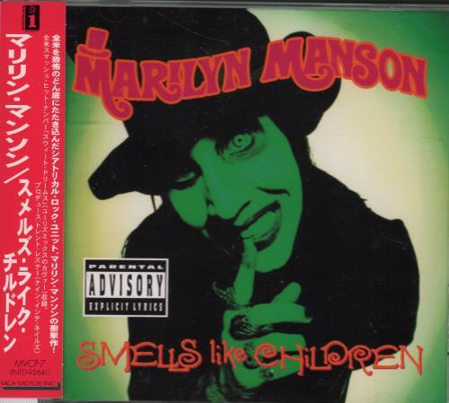 Marilyn Manson Smells Like Children CD album (CDLP) Japanese MYMCDSM168613