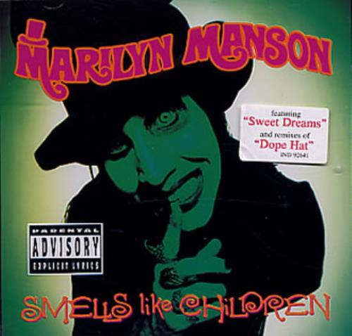 Marilyn Manson Smells Like Children CD album (CDLP) UK MYMCDSM336239