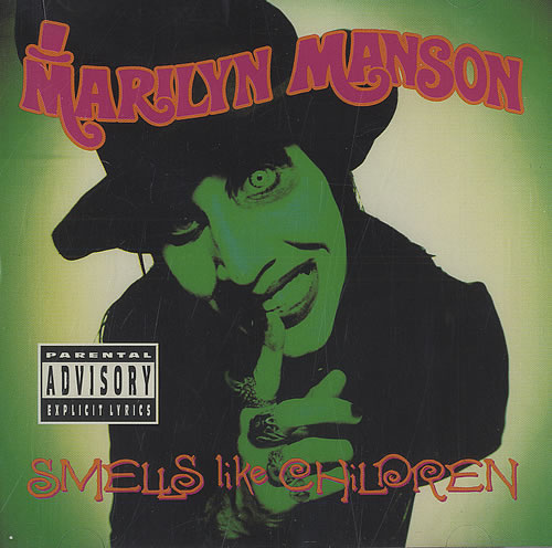 Marilyn Manson Smells Like Children CD album (CDLP) US MYMCDSM434740