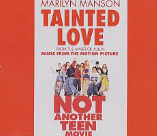 "Marilyn Manson Tainted Love CD single (CD5 / 5"") German MYMC5TA208747"