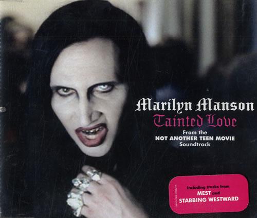 Marilyn Manson Tainted Love 2-CD single set (Double CD single) UK MYM2STA209163