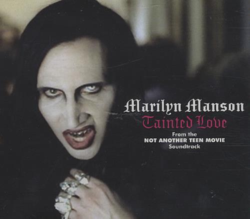 "Marilyn Manson Tainted Love CD single (CD5 / 5"") UK MYMC5TA390236"