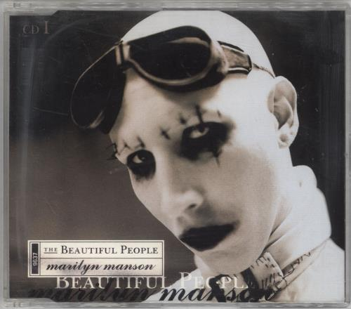 Marilyn Manson The Beautiful People 2-CD single set (Double CD single) UK MYM2STH241402