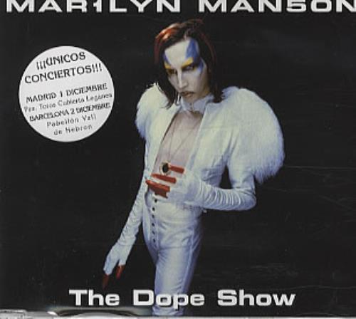 "Marilyn Manson The Dope Show CD single (CD5 / 5"") Spanish MYMC5TH127504"