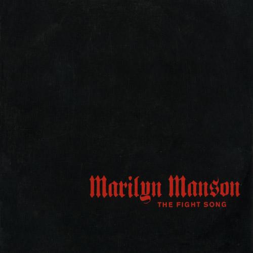 "Marilyn Manson The Fight Song CD single (CD5 / 5"") UK MYMC5TH176178"