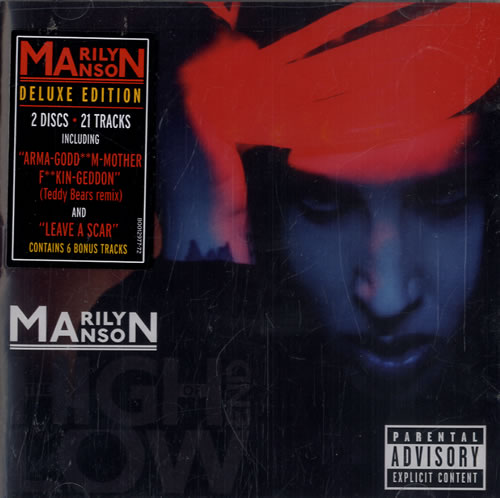 Marilyn Manson The High End Of Low 2 CD album set (Double CD) US MYM2CTH478276